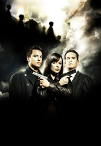 John Barrowman, Eve Myles and Gareth David-Lloyd star in Torchwood: Children of Earth. Photo courtesy of and copyright of