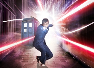 Guess who's coming to San Diego??? David Tennant as The Doctor in Doctor Who. Photo copyright of the BBC
