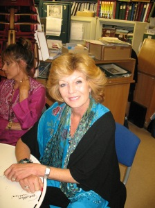 The lovely Rula Lenska. Photo by and copyright of Steve Eramo