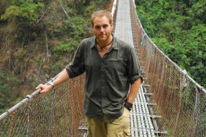 Josh Gates and his team head to the Peruvian jungles and visit the Bermuda Triangle on this week's Destination Truth. Photo copyright of The Syfy Channel